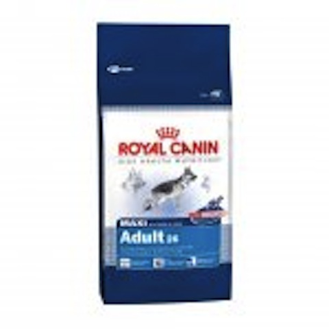 Royal canin maxi adult 26, 15 kg.